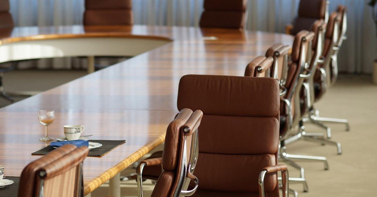 Sala riunioni organizzazione