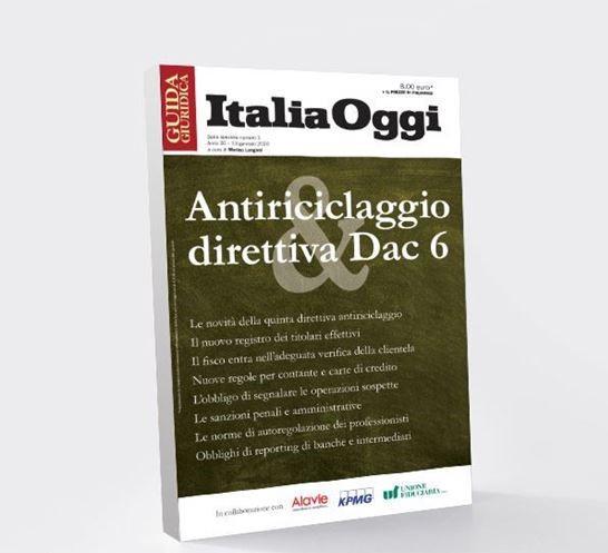 Antiriciclaggio: Guida Giuridica Italia Oggi in collaborazione con Alavie
